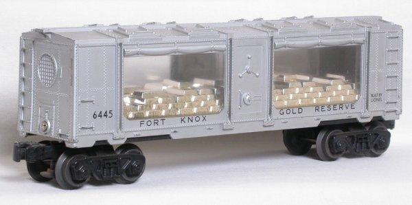24: Lionel 6445 Fort Knox gold reserve car
