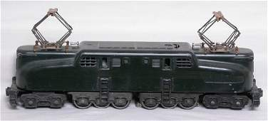 156: Lionel 2332 green GG1 electric