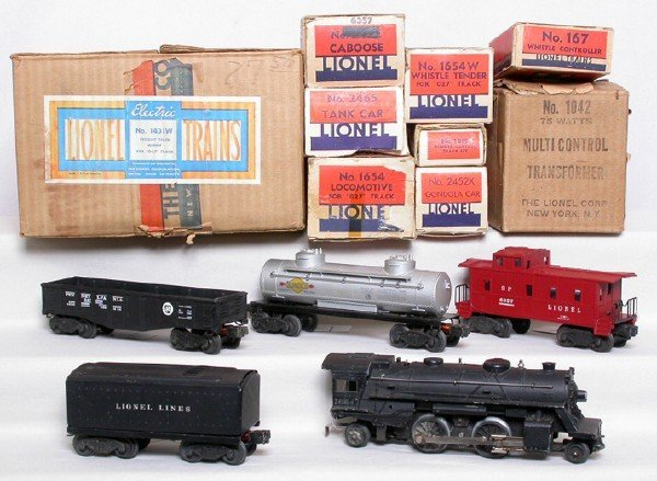 1: Lionel boxed 1431 set with 1654 loco
