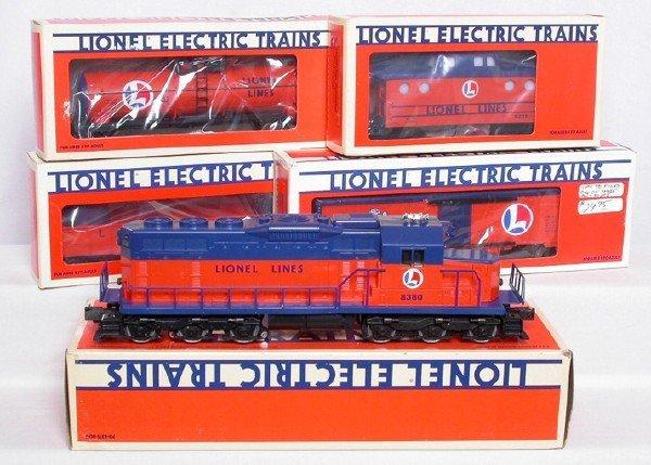 10: Lionel Lines freight set 8380 6214 6313 9849 9239