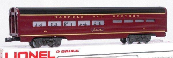 14: Lionel Norfolk and Western 7203 dining car NIB
