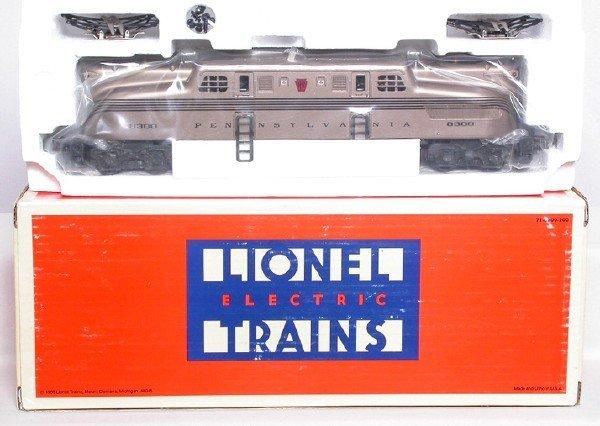 16: Lionel 18300 mint car series gold PRR GG1 NIB