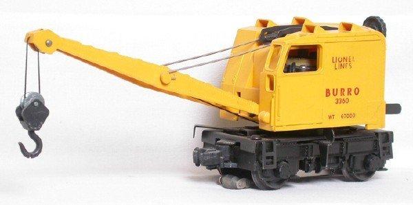 21: Lionel 3360 Burro crane