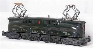 37: Lionel 2340 green GG1