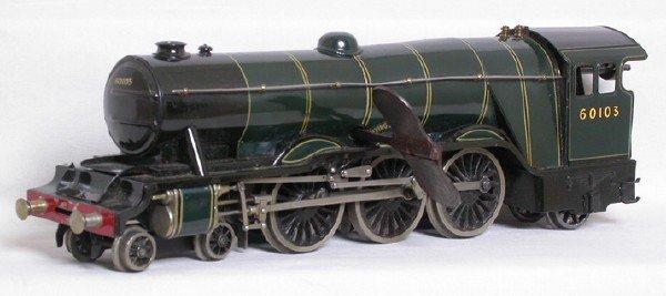 145: Basset Lowke 0 gauge clockwork Flying Scotsman