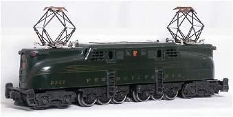 380: Lionel 2332 green GG1