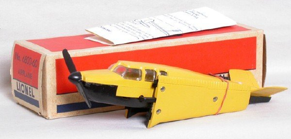 706: Lionel separate sale 6800-60 airplane, OB