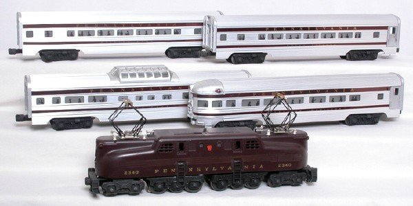 708: Lionel 1955 Congressional set with original boxes