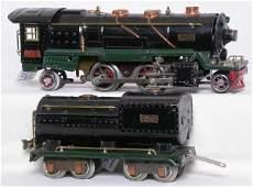 1029: Lionel prewar 260E steam loco and tender