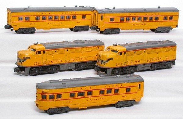 2001: Lionel Anniversary Passenger set 1464W