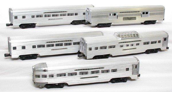 2003: Lionel 2530, 2531, 2532, 2533, 2533 Aluminum set