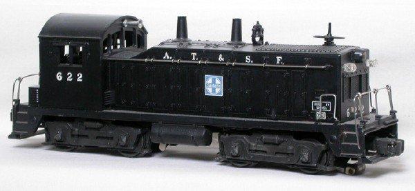 2004: Lionel 622 Santa Fe NW-2 switcher