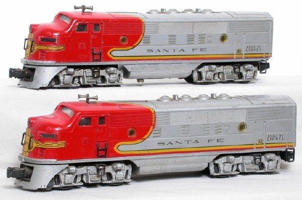 2008: Lionel 2343 Santa Fe F3 AA Diesels