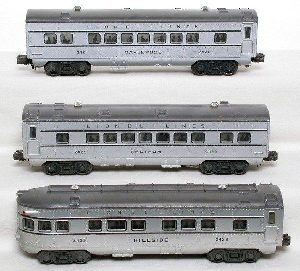 2010: Lionel 2421 2422 2423 passenger set