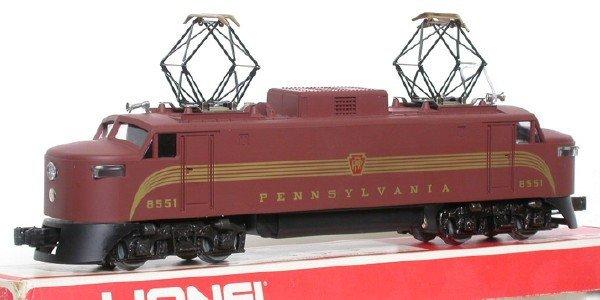 2012: Lionel 8551 Pennsylvania Electric