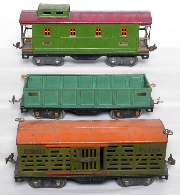 2013: Lionel 512, 513, 517 freight cars