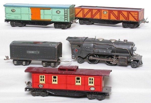 2016: Lionel gray 259E freight set