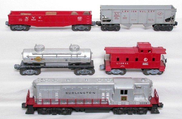 2018: Lionel 2328 Burlington GP-7 freight set