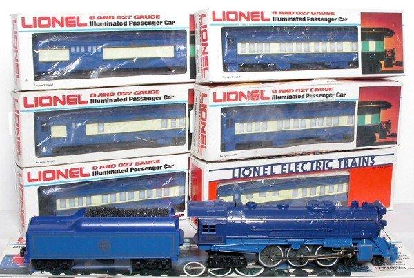2020: Lionel 8801 Blue Comet passenger set