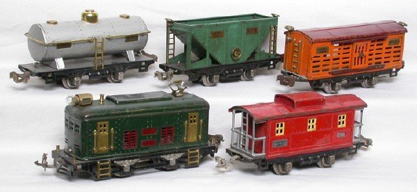 2024: Lionel 248 green electric freight set