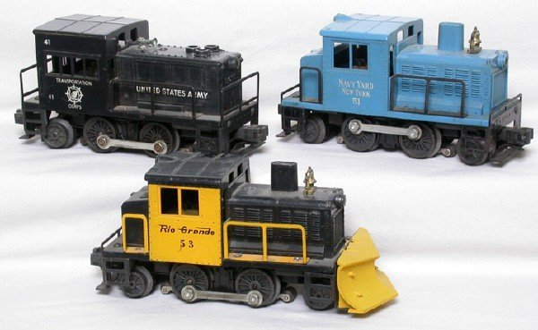 2047: Lionel motorized units 41, 51, 53