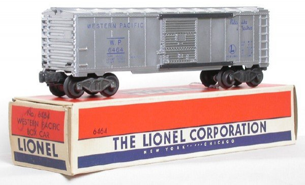 2611: Lionel 6464-1 Western Pacific Boxcar Boxed