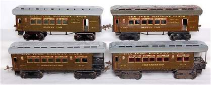2758 Ives Two 71 Buffet Cars and Two Observations