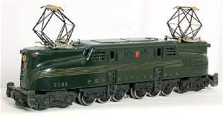 100: Lionel 2332 green GG1, nice