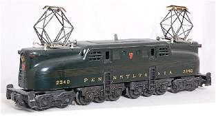 330: Lionel 2340 green GG1