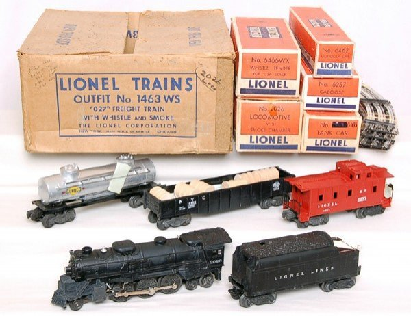 800: Mint Lionel 1463WS with 2026 steam set in box