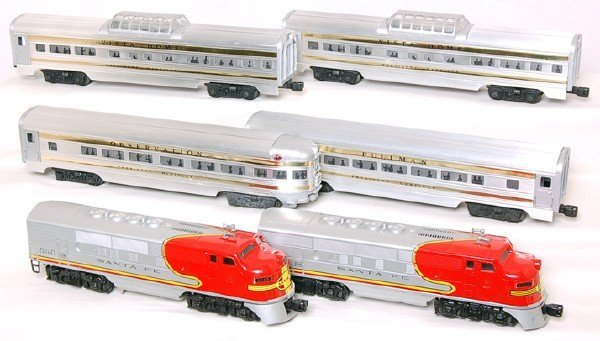 803: Lionel set 2383 AA, 2521, two 2522 and 2523