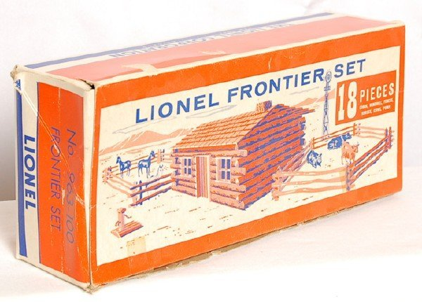 805: Lionel 963-100 Frontier Set from Halloween, OB
