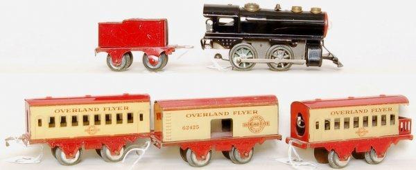 2: Hafner Overland Flyer 5 piece passenger train