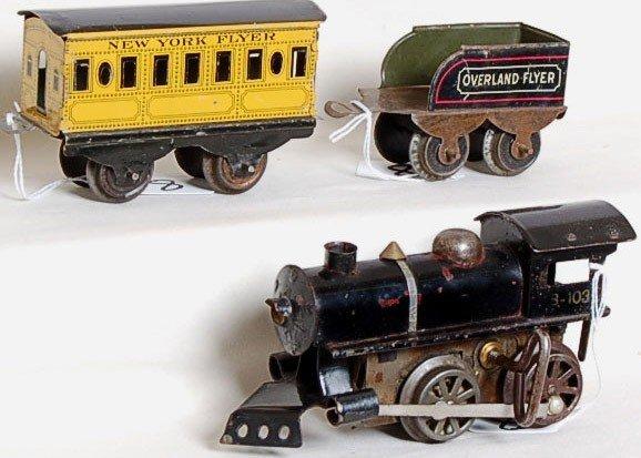 8: Hafner Overland Flyer wind up train set