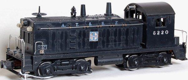 20: Lionel 6220 Santa Fe NW2 switcher