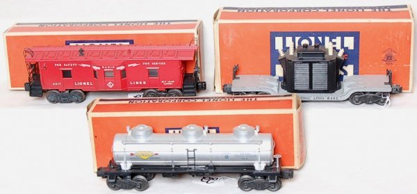22: Lionel 6517, 6461 and a 6415 in boxes