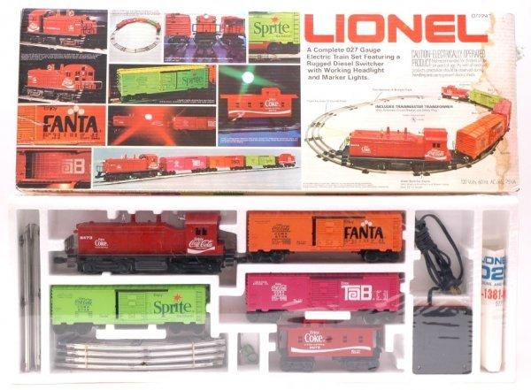1000: Lionel 1463 Coca Cola Set MINT Sealed Boxed