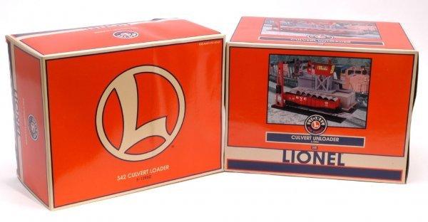 1002: Lionel 12982 Loader 12983 Unloader MINT OB