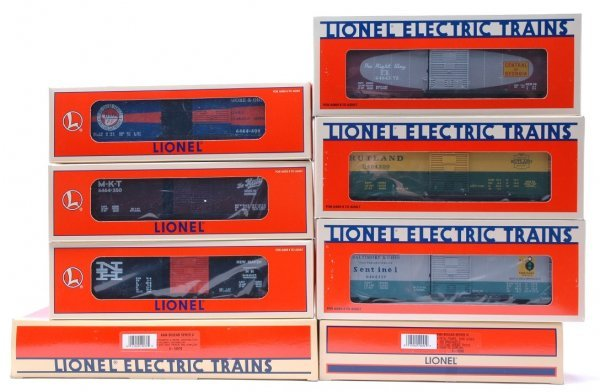 1006: Lionel 6464 Series V and Series VI MINT Boxed
