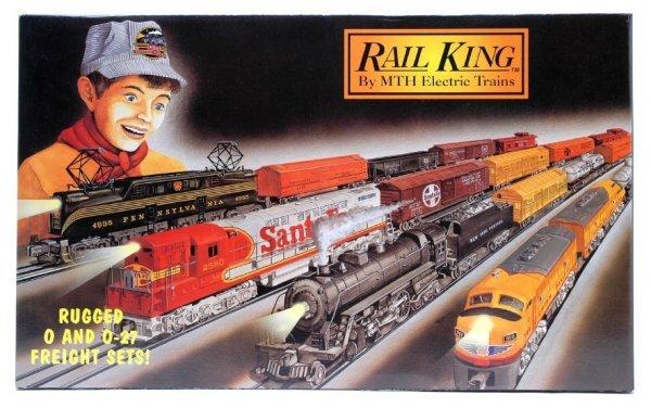 1008: MTH Rail King NYC F-3 Diesel Fr Set MINT Boxed