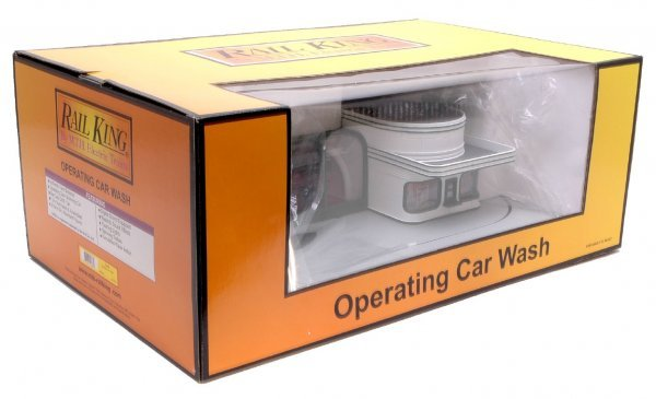 1012: MTH Rail King 9104 Car Wash MINT Boxed