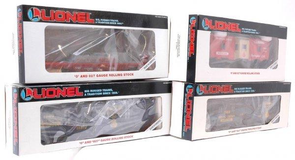 1016: Lionel 16801 16802 16803 16804 MINT Boxed