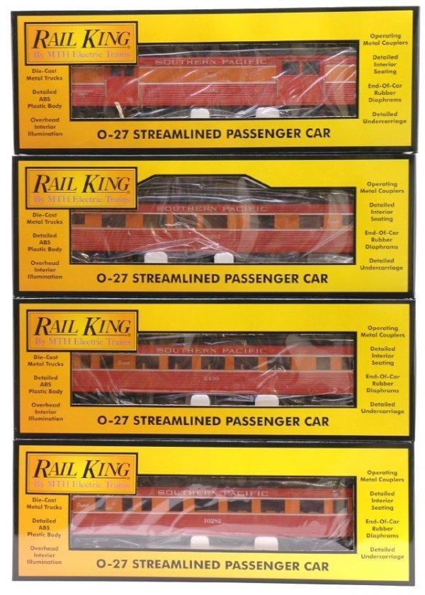 1018: MTH 30-6060S SP 4 Car Pass Set MINT Boxed