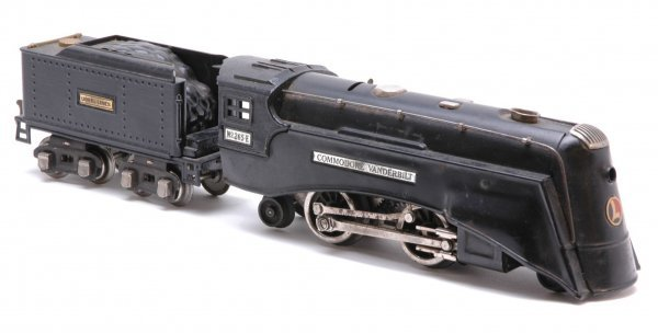 1020: Lionel 265E Black Steam with 262T Tender