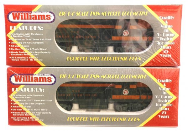 1021: Williams GN GP-9 95715  and 95718 MINT Sealed