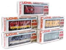 Lionel 9326 9355 9361 9372 9382 Boxed