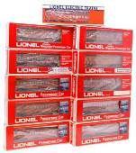 1122 Lionel Milwaukee Road Eleven Pass Cars Boxed