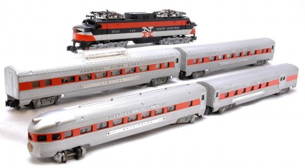 1356: AF 499 NH Electric with 960 961 962 963 Pass Cars