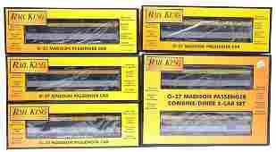 1538 MTH Rail King C O Madison Six Car Set MINT Boxed