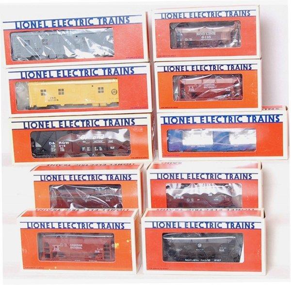 5: Lot of 10 Lionel Ore Bunk Mint Hopper Cars